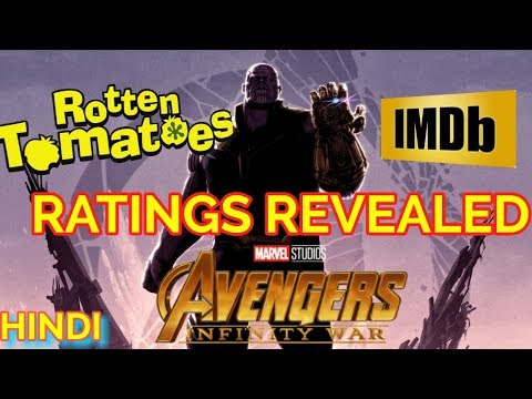 AVENGERS INFINITY WAR ROTTEN TOMATOES SCORE | IMDB RATINGS | EXPLAINED IN HINDI
