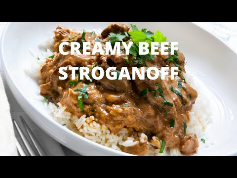 how-to-make-beef-stroganoff!!-creamy-beef-mushroom-stroganoff!-best-beef-stroganoff-recipe