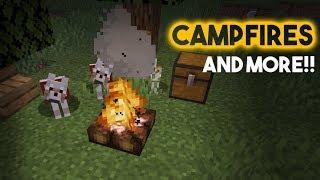 CAMPFIRES ARE FINALLY HERE!! New Minecraft Village & Pillage 1.14 Update: 19w02a
