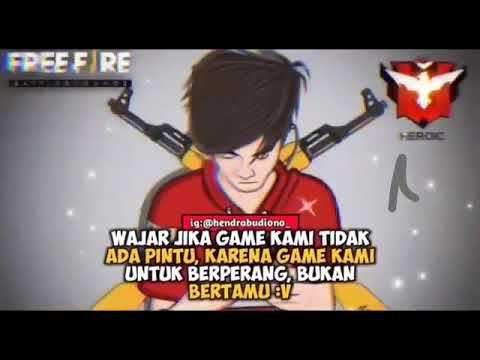 Kata Kata Freefire Freefire Battleground Youtube