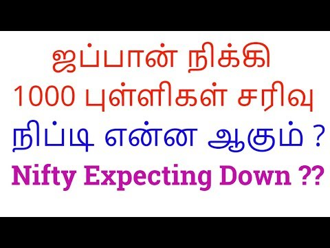 Nikkei Down 1000 Points | NIFTY DOWN TREND ?? Stock Market Updates 25th Dec 2018 | Tamil Share