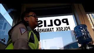 Polisi bersikap tegas ngadapin sopir Grab sok dan ngaku2 intel