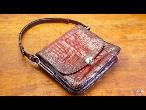 "Restoring an old Gator Leather Purse (Not a ""How to"")"