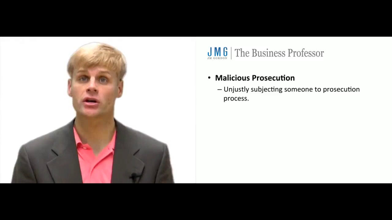 Image result for Malicious Prosecution
