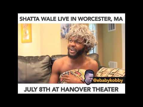 SHATTA WALE LIVE IN WORCESTER, MA - Ebaby Kobby