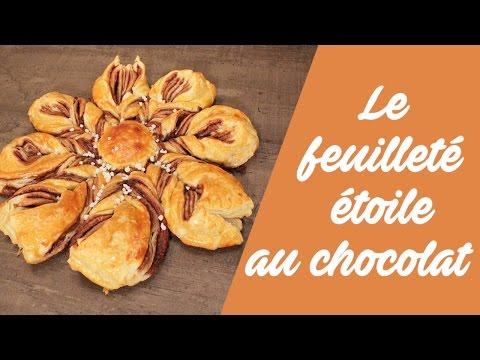 la-recette-du-feuilleté-étoile-au-chocolat-!