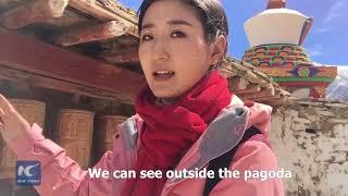 A glimpse at 1000-year-old Tibetan Buddhist Stupa