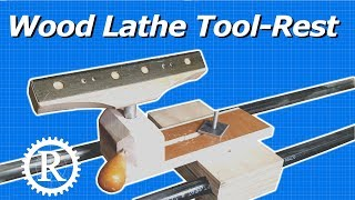 Real Lathe Pt. 4: Fully Adjustable Tool-rest