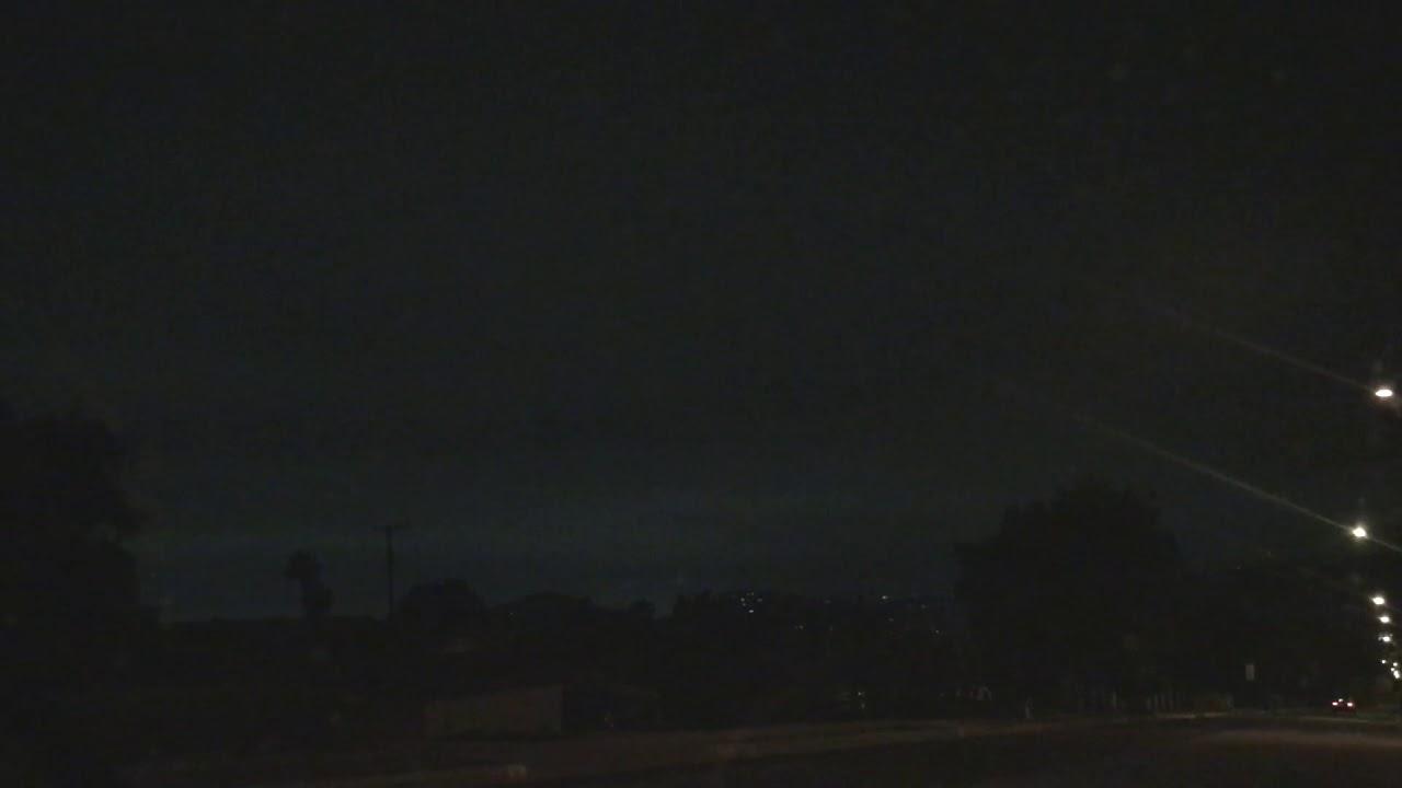 Strange Lights Over LA