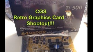 CGS Coop's Lab - Retro Graphics Card Shootout! Nvidia's GeForce 2 Ti and 3 Ti series review