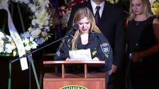 Sgt. Lunger's Funeral: Daughter Sara's speech