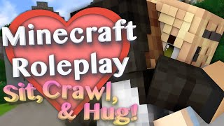 Sit, Crawl, & Hug! with More Player Models 2 Mod (Minecraft Roleplay Tutorial) #3