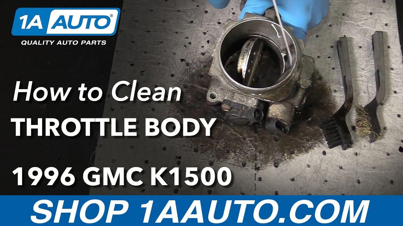 How to Clean Throttle Body 88-98 GMC Sierra K1500