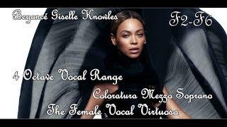 Beyoncé - 4 Octave Range - Studio/Live (F2-F6) 1997-2014