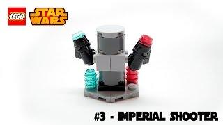 LEGO® STAR WARS™ Magazine Building Timelapse #3 - Imperial Shooter (Torreta Imperial)