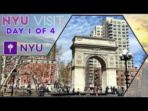 ☆ New York University (NYU) Visit in New York City - Day 1 of 4