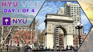 ☆ New York University (NYU) Visit in New York City - Day 1 of 4