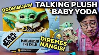 BABY YODA INI DIREMES MALAH NGOMONG.. (UNBOXING & REVIEW TALKING PLUSH HASBRO THE CHILD)