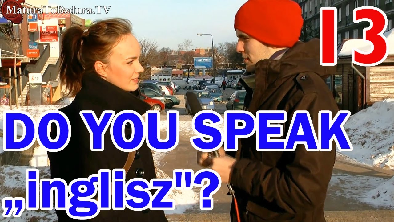 do you know how to speak english