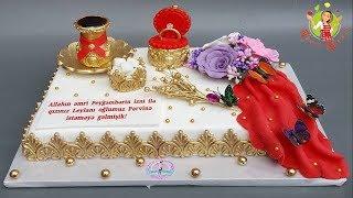 🔵 Nişan tortları   Xına tortları   Tortların bəzədilməsi ideyaları   Pasta süsleme   Cake decoration