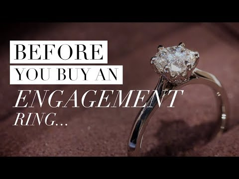 10 Things to Know BEFORE YOU BUY an Engagement Ring