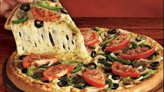 Vegetarian Pizza Recipe (Hindi)