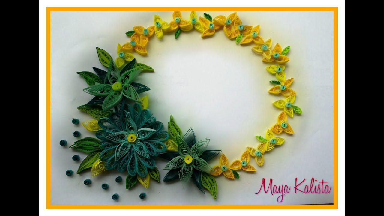 How To Make Paper Quilling Flower Designs Juvecenitdelacabrera