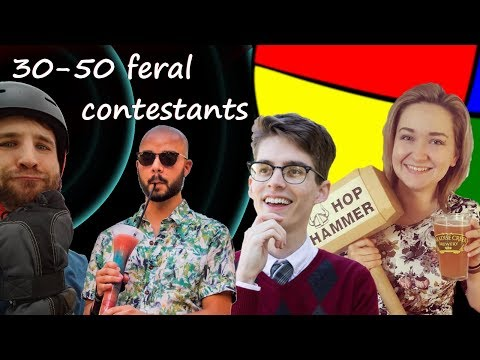 30-50 feral contestants