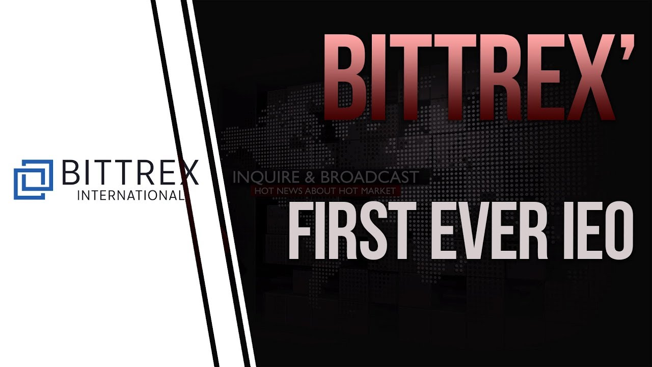 Bittrex announces its first ever Initial Exchange Offering