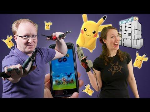 Ben Heck's Pokemon Go Survival Kit