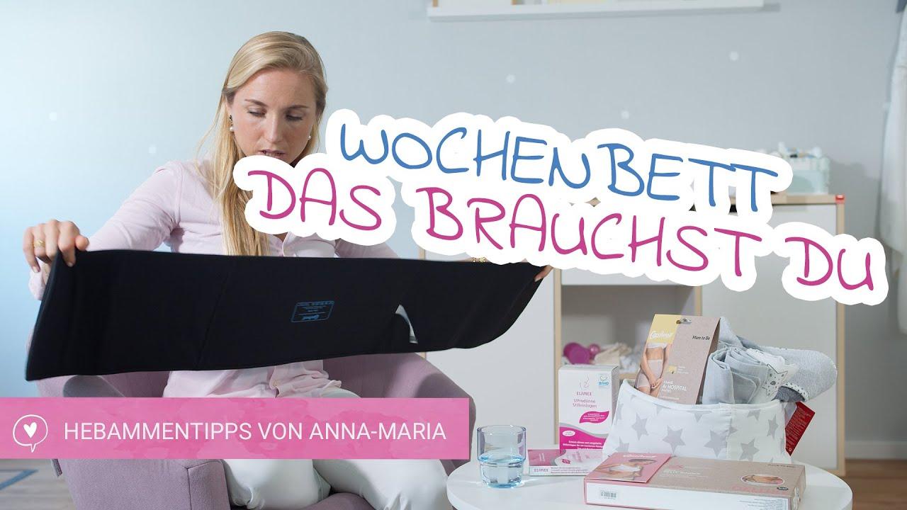 Das Wochenbett   Was brauche ich dafür?   Hebammentipps von Anna-Maria   babyartikel.de