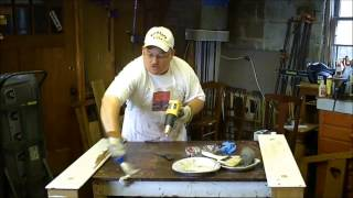 How To Strip Paint From Wood - Theflyingfurnitureguy.com