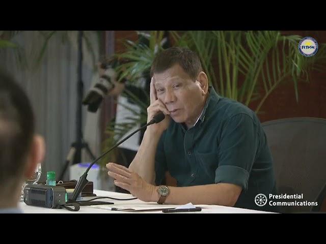 President Duterte's