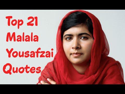 Top 21 Malala Yousafzai Quotes (Author of I Am Malala