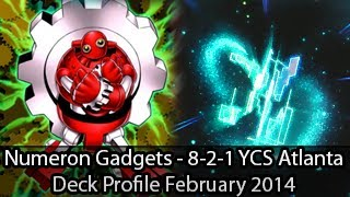 Numeron Gadgets - 8-2-1 YCS Atlanta Edward Huffman - Yugioh Deck Profile February 2014