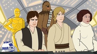 Star Wars Episodes IV-VI in 3 Minutes