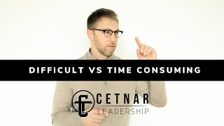 1-19-20 Sunday with Todd:  Focused Skill  | Mindset difficult vs time-consuming