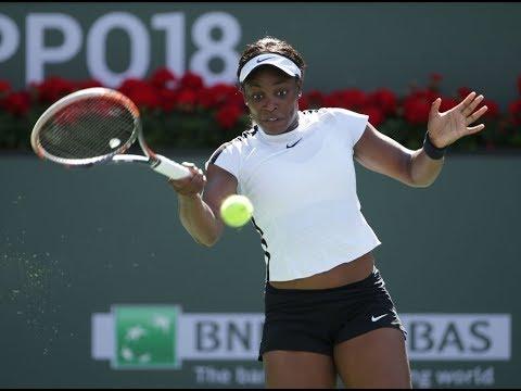 2018 Indian Wells Third Round   Sloane Stephens vs Victoria Azarenka   WTA Highlights
