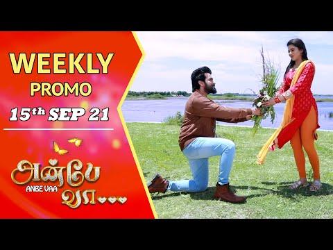 ANBE VAA   Weekly Promo   15th Sep 2021   Virat   Delna Davis   Saregama TV Shows Tamil