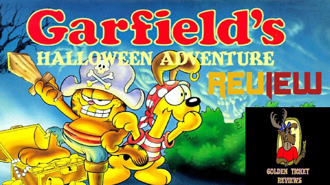 GARFIELD'S HALLOWEEN ADVENTURE REVIEW by BRANDON THE BAMBI MAN ...