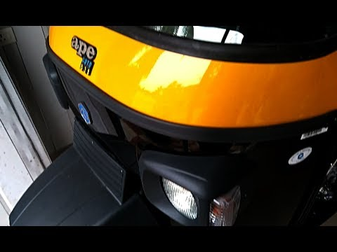 Piaggio Ape Xtra DLX Passenger Complete Review including engine, price, mileage, specifications