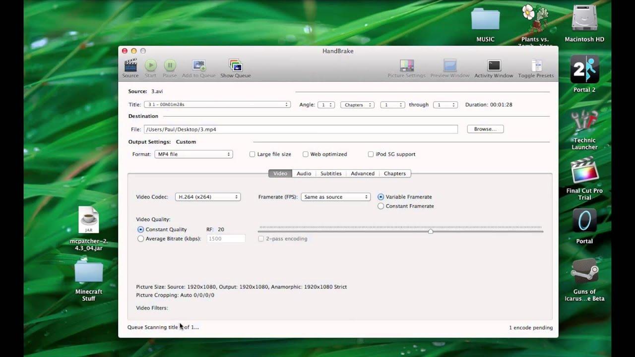 fraps codec for mac