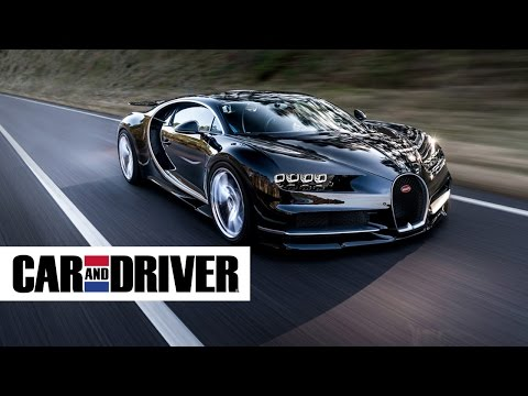Bugatti Chiron Review in 60 Seconds | Car and Driver
