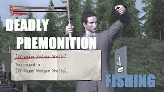 Deadly Premonition Fishing Gameplay [PC HD]