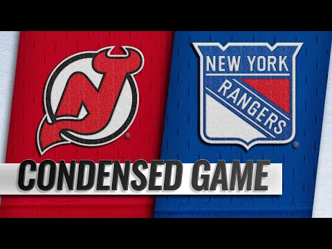 09/24/18 Condensed Game: Devils @ Rangers