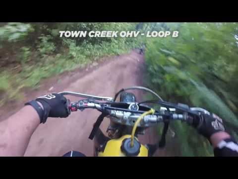 giggles and bultacodude Hit Town Creek OHV - 8/21/16