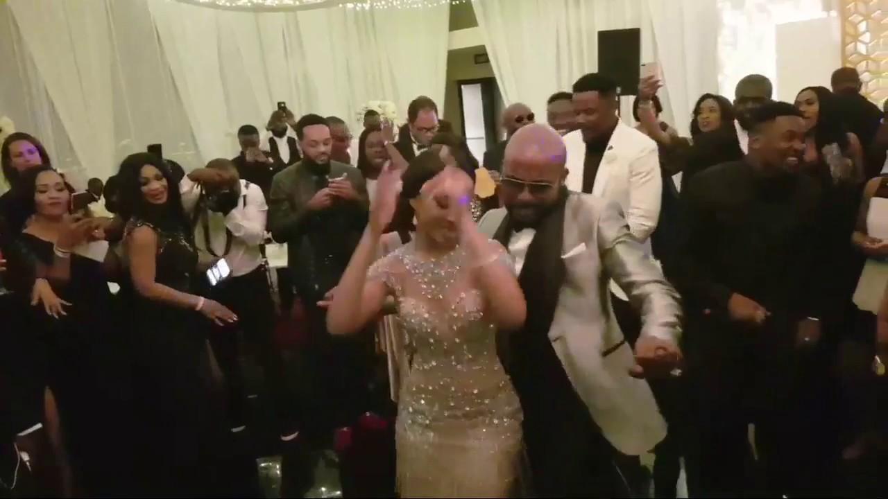 Download BankyW & Adesua WEDDING DANCE IN SOUTH AFRICA   BAAD2017