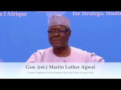Effective & Empowering Leadership in Africa's Security Sector – Gen. (ret.) Martin Luther Agwai