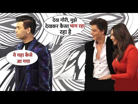 Shahrukh Khan and His Wife Ignores Karan Johar at a Gauri's Party | Dharmatic Entertainment Show