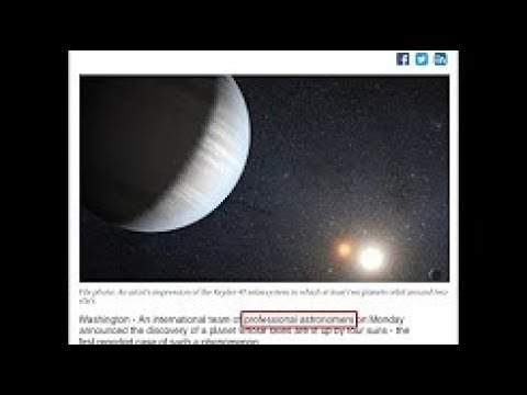 SHOCKING: PROPHECY OF CREATION OF A NEW SOLAR SYSTEM ABOVE THE EARTH FULFILLED!!!